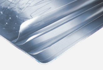 Cleargard polycarbonate glazing with multilayer protection film