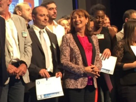 Plastrance's thermodraping project received an award from the Minister Ségolène Royal during the ADEME 2016 Investment Program.