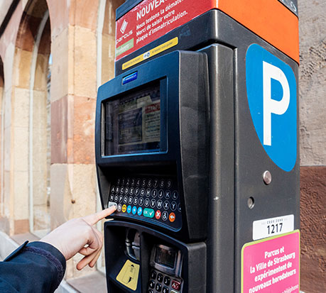 Plastrance uses the latest plastic thermoforming techniques to produce custom-made parts for public spaces: parking meter, SNCF terminal.