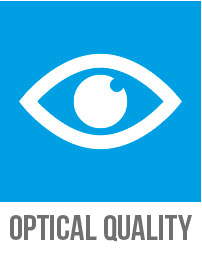 Optimum optical quality of Cleargard safety glazing
