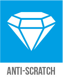 Anti-scratch and abrasion-resistant coating of Cleargard safety glazing