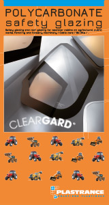 Download Cleargard's technical documentation, safety glazing for agricultural, forestry and civil engineering machinery.